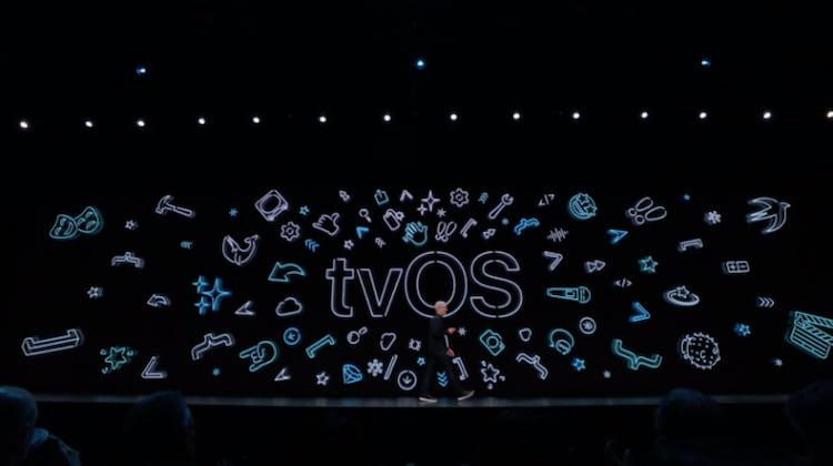 Anuncio das novidades da Apple TV na WWDC