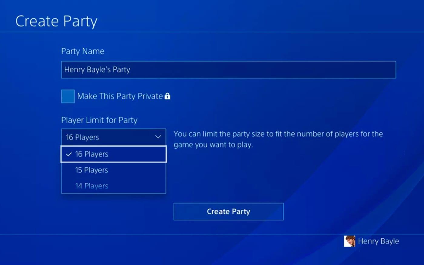 PS4: PlayStation Preview Program trará aumento de participantes nas partys e melhorias de áudio