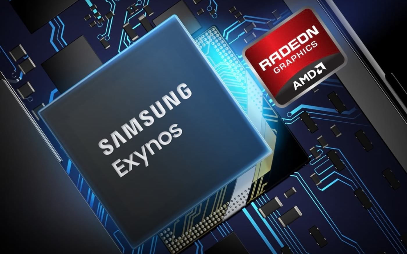 Samsung vai colocar GPU Radeon da AMD em seus smartphones futuros