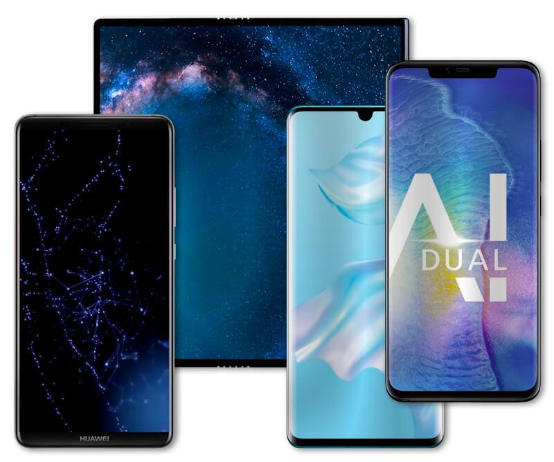 Smartphones da Huawei