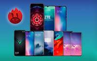 Top 10: Smartphones mais potentes de maio
