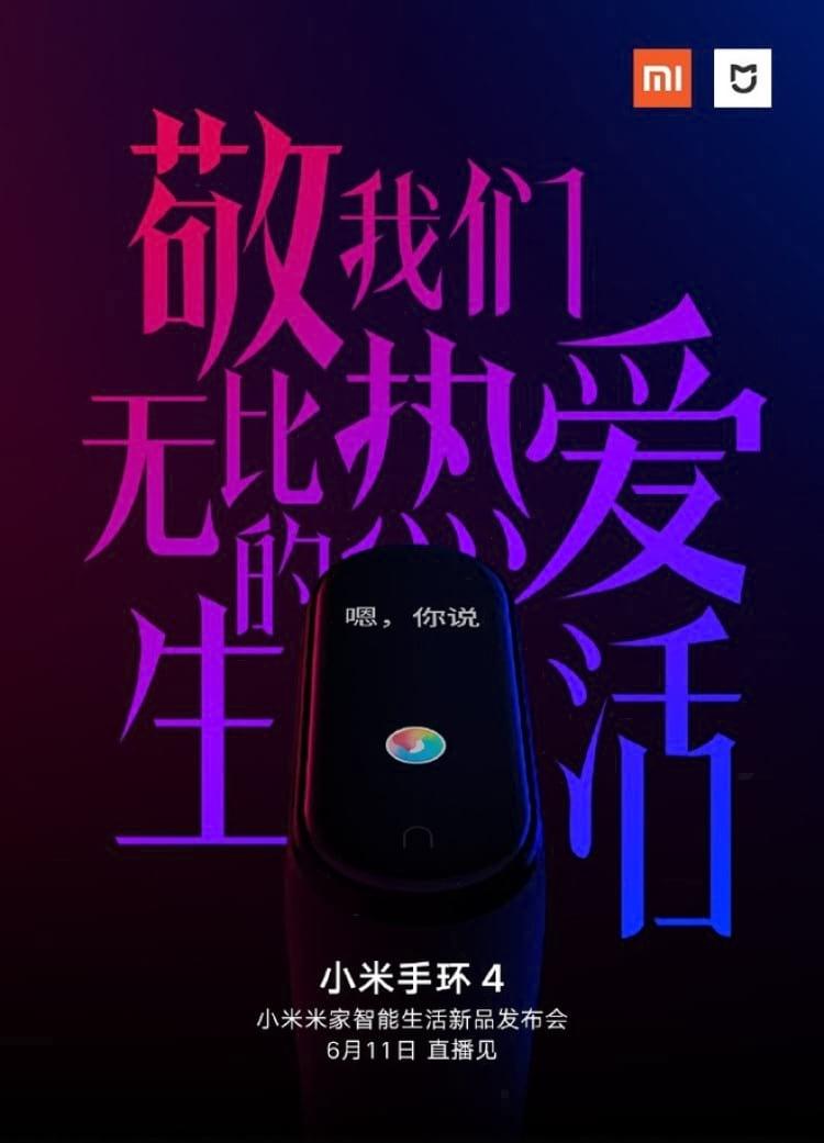 Banner que a Xiaomi divulgou na rede social chinesa Weibo