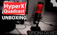 HyperX Quadcast - Unboxing e primeiras impressões