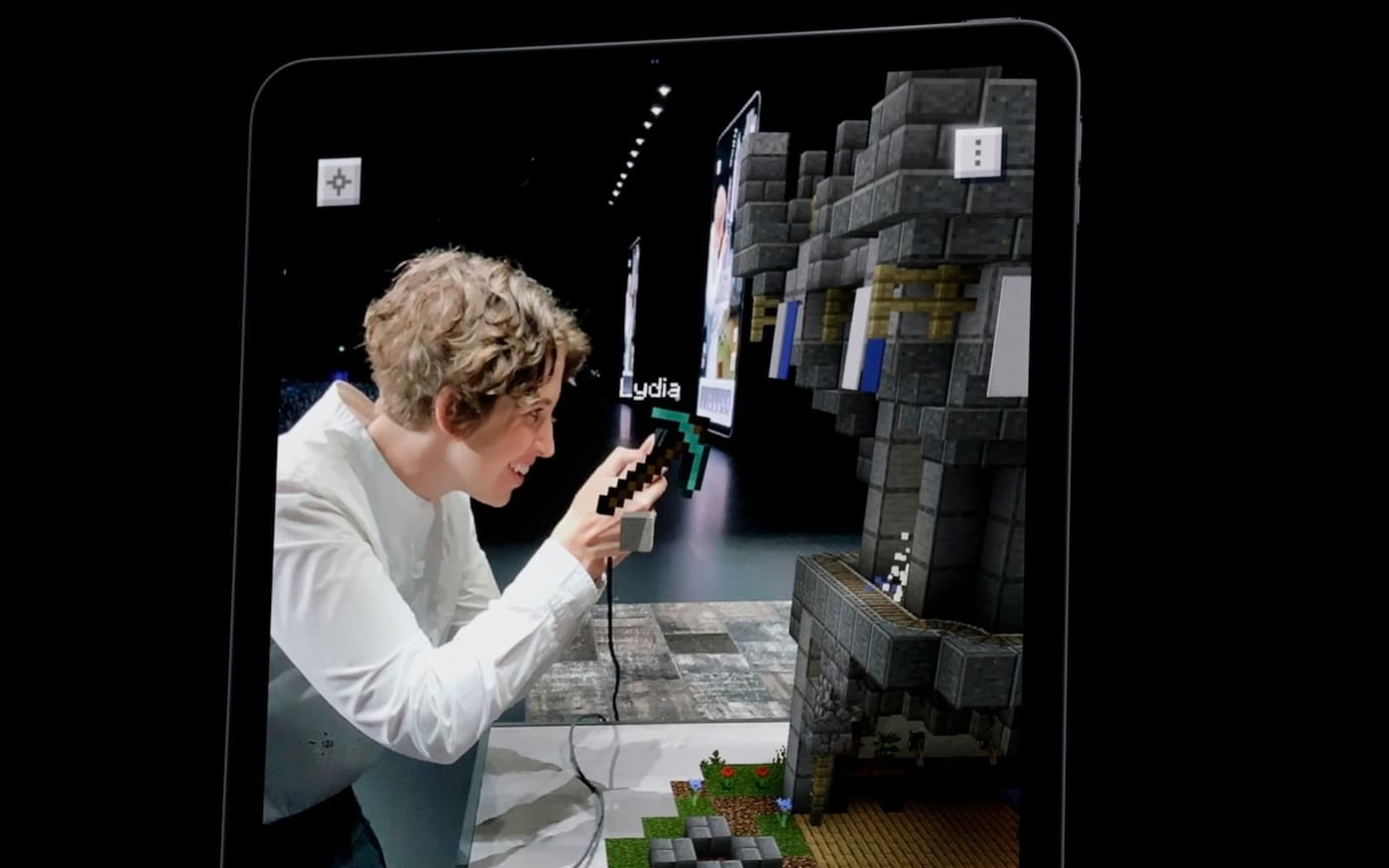 Conheça os recursos em AR do Minecraft Earth apresentados na WWDC 2019