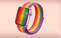 Novas cores para as Pulseiras para Apple Watch, cases para iPhones e iPads em comemoração ao mês do Orgulho LGBT