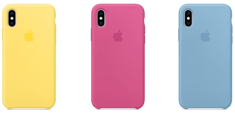 Novas cores presentes também nas cases para iPhones
