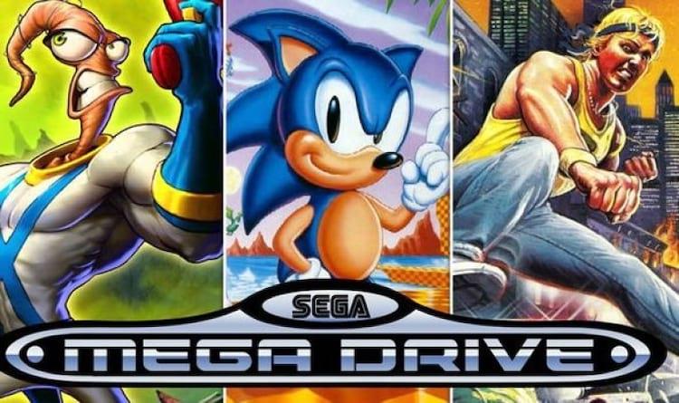 Console classico Mega Drive