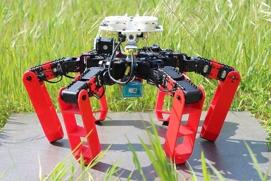 AntBot. Foto: Dupeyroux, et al/Science Robotics