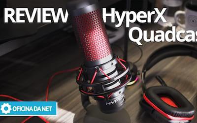 HyperX QuadCast, um novo competidor no mercado de microfones para Streamers - REVIEW
