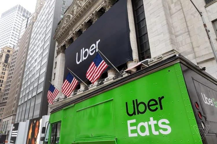 Fusão entre Uber e Uber Eats no aplicativo principal