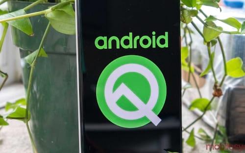 Android Q beta em suporte nativo para desbloqueio facial