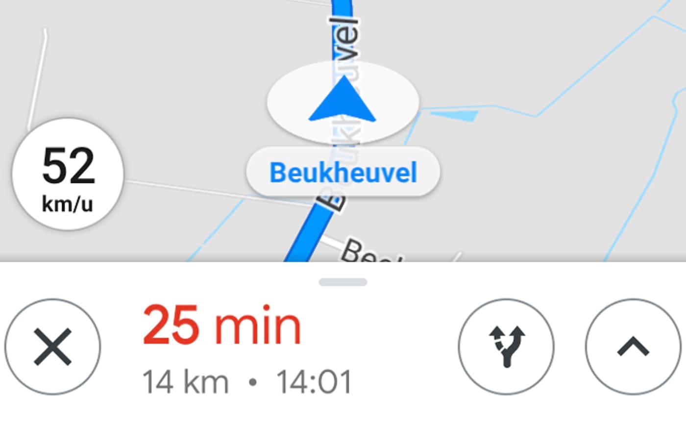O Google Maps passará a mostrar um velocímetro na tela enquanto você dirige