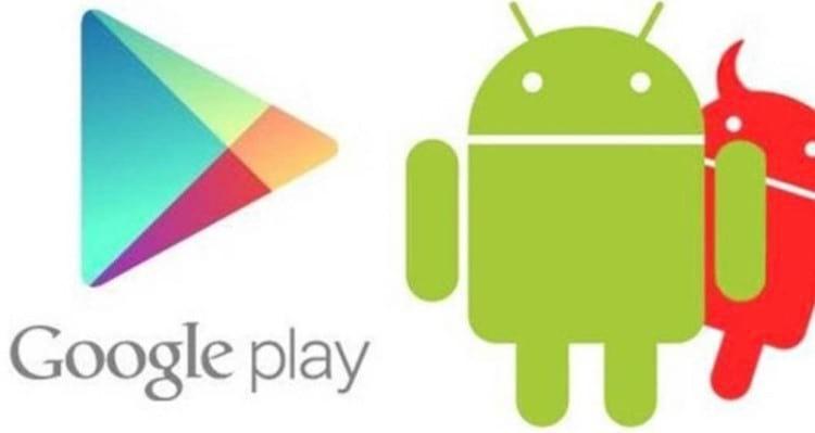 Aplicativos infectados na Play Store