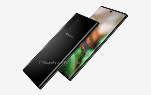 Galaxy Note 10: Primeiras imagens renderizadas aparecem, veja