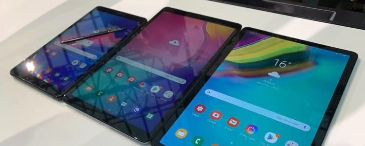 Novos Galaxy tab chegam ao Brasil
