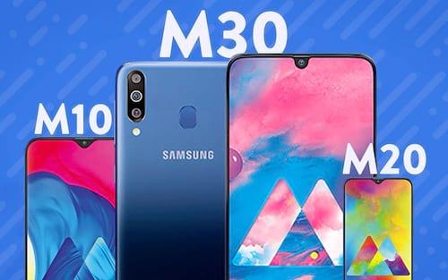 Quais as diferenças entre Galaxy M10, M20 e M30