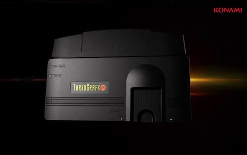 Konami anuncia o console retrô Mini TurboGrafx-16