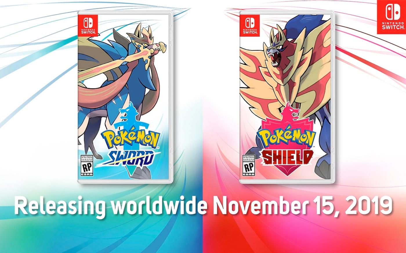 Pokémon Sword e Shield chega em novembro trazendo novidades