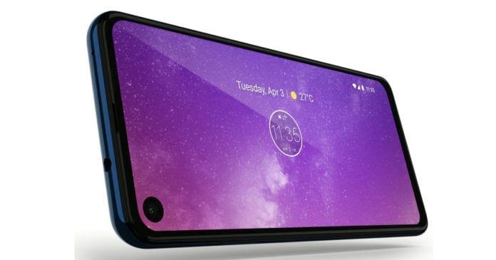 Motorola One Vision (para fins de representação)