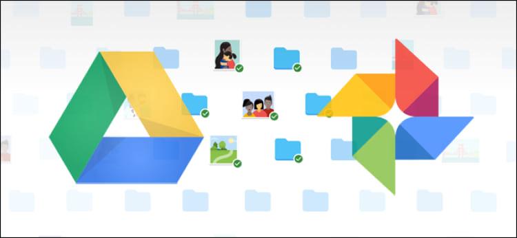 Sincronização entre Google Drive e Google Photos