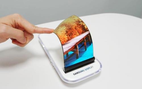 Patente da Samsung mostra displays para celular