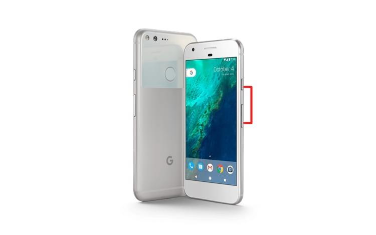 Como capturar a tela no smartphone Google Pixel