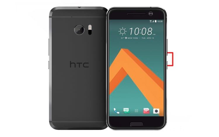 Como capturar a tela no smartphone HTC U10