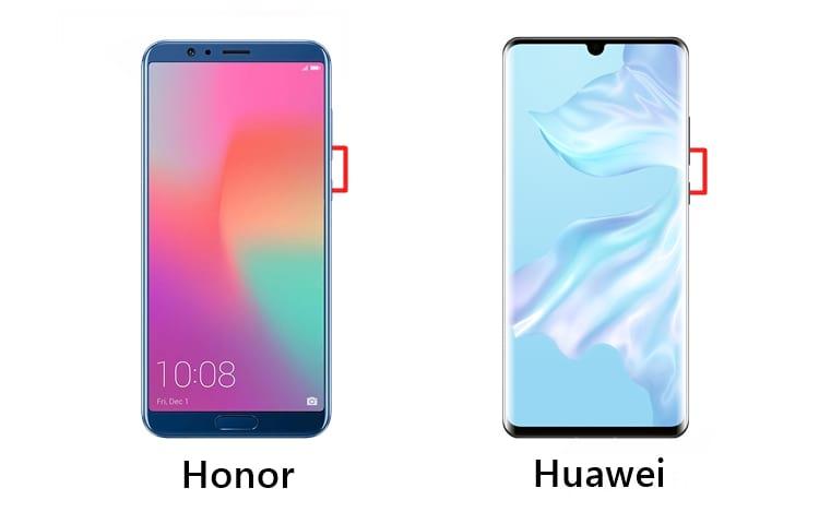 Honor e Huawei