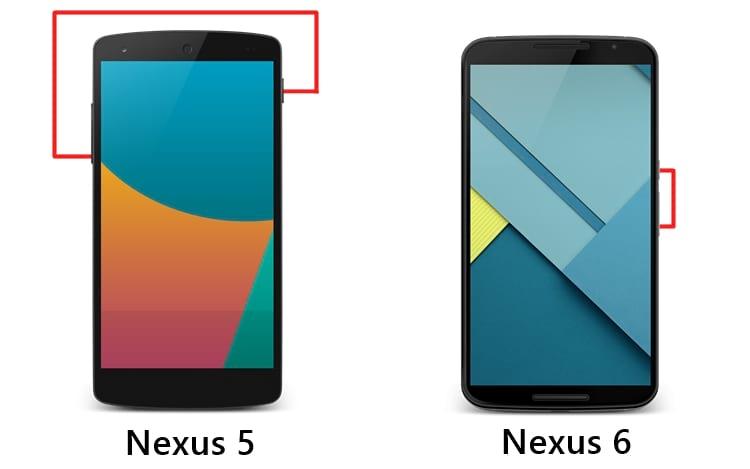 Como capturar a tela no smartphone Nexus