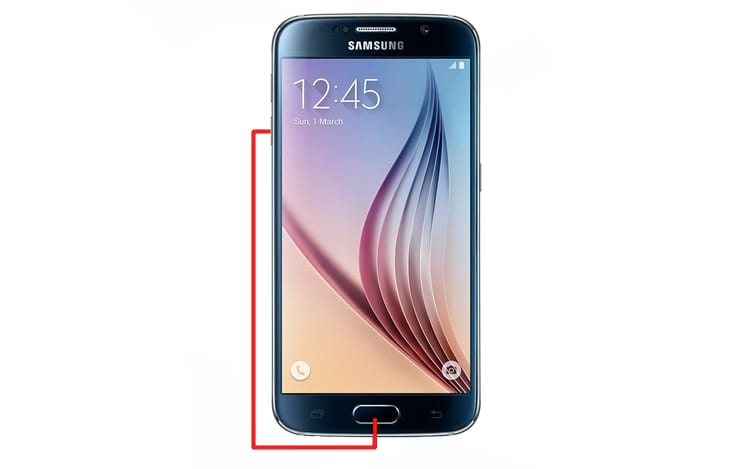 Como capturar a tela no smartphone Galaxy S8 e anteriores