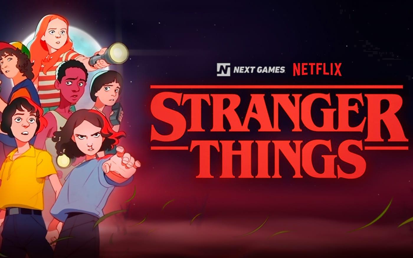 Netflix lançará jogo sobre Stranger Things em 2020