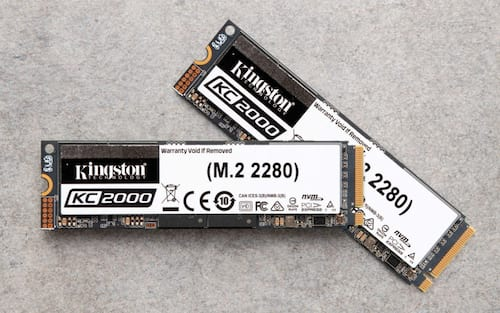 Recém lançado SSD KC2000 NVMe PCIe da Kingston já está disponível no Brasil