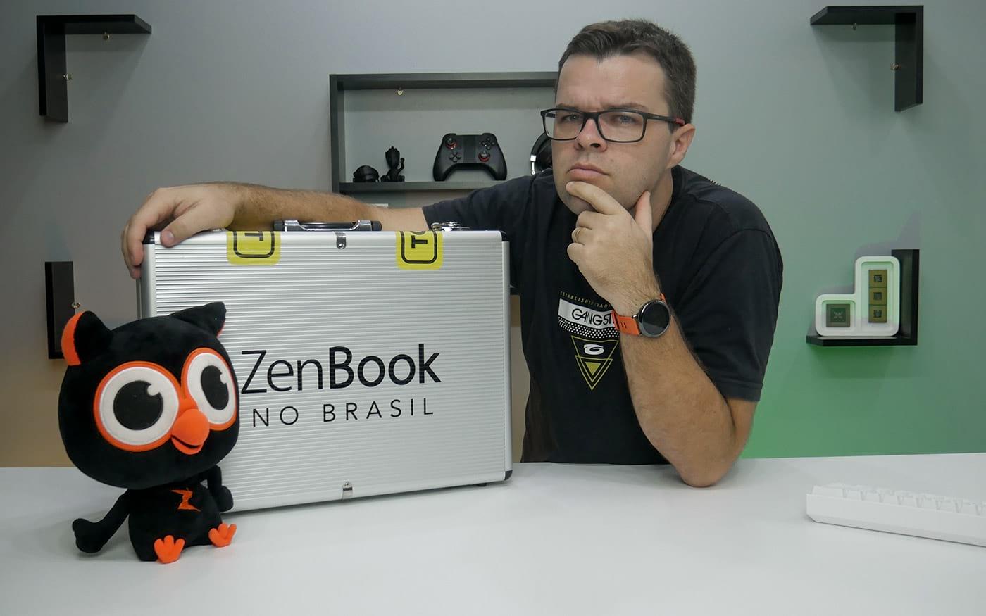 ASUS Zenbook - Unboxing e primeiras impressões - lançamento próximo no Brasil
