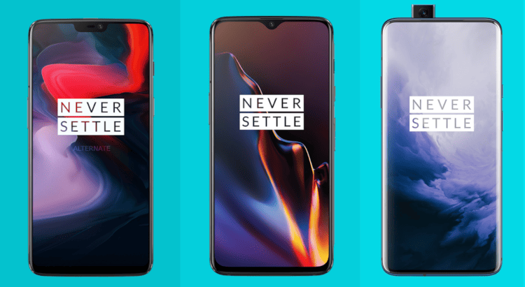 OnePlus 6 vs OnePlus 6t vs OnePlus 7Pro
