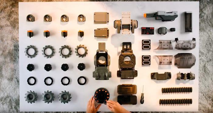 46 componentes para montar