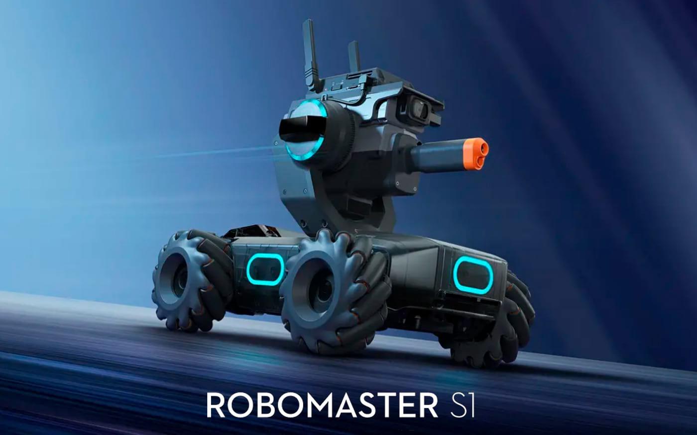 DJI lança robô educacional RoboMaster S1