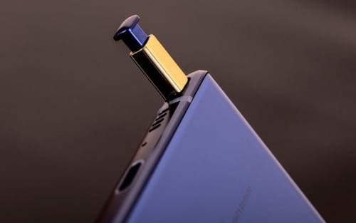 Samsung Galaxy Note 10 pode ter tela que emite som