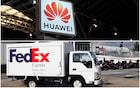 A FedEx se recusou a entregar um telefone Huawei nos EUA