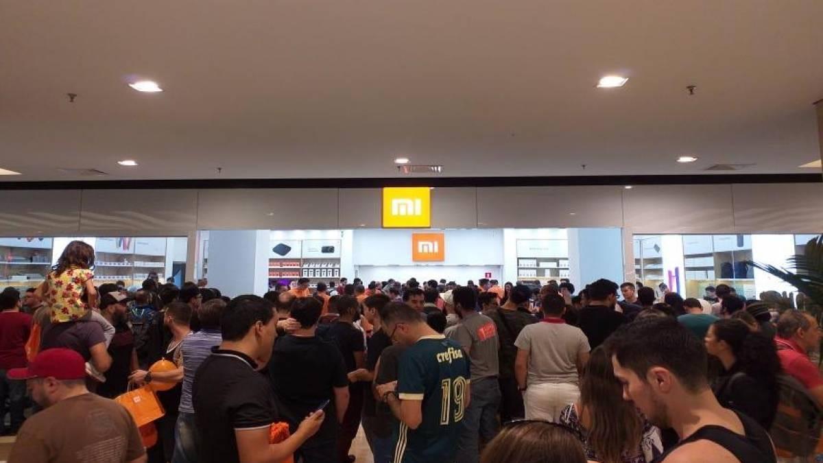 Loja da Xiaomi em shopping é autuada pelo Procon. Foto: Olhar Digital