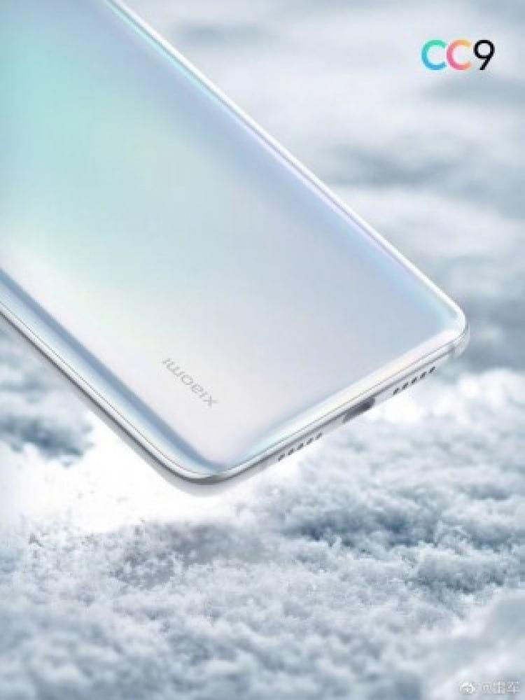 Novo celular Xiaomi Mi CC9