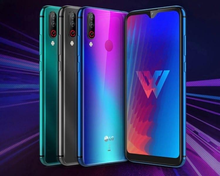 Smartphone LG W30
