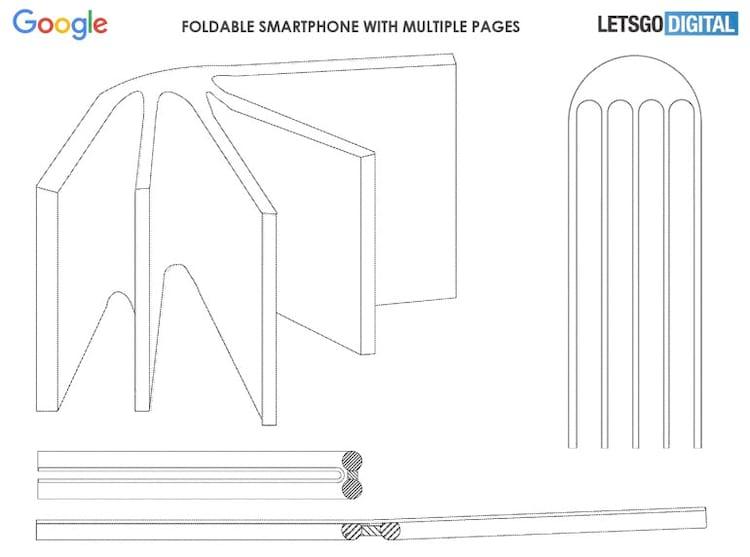 Patente de smartphone com múltiplas telas