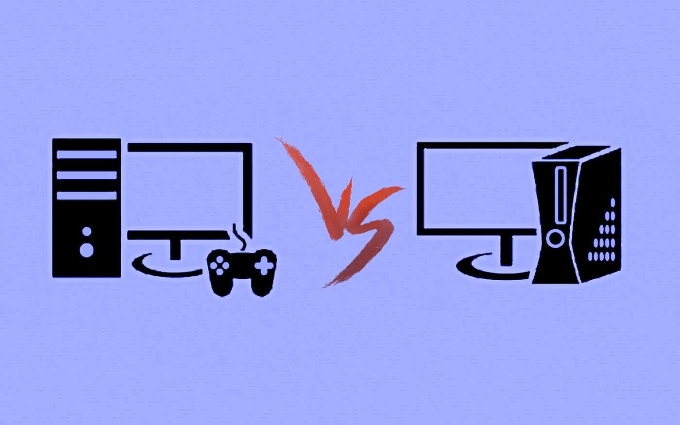 Diferenças de jogar em um console e em um PC Gamer