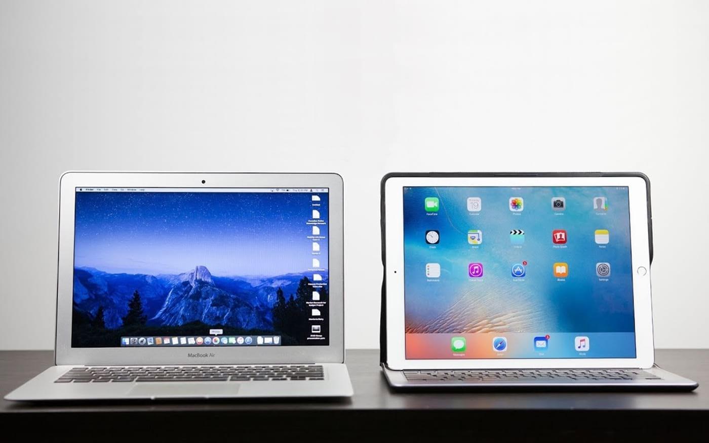 MacBook Air ou iPad Pro: Qual o melhor para trabalhar e navegar na internet?