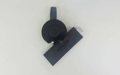 Quais as diferenças entre o Google Chromecast 3 e o Amazon Fire TV Stick?