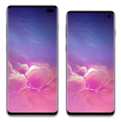 Galaxy S10Plus e Galaxy S10