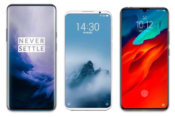 OnePlus 7 Pro, Meizu 16s  e OnePlus 7