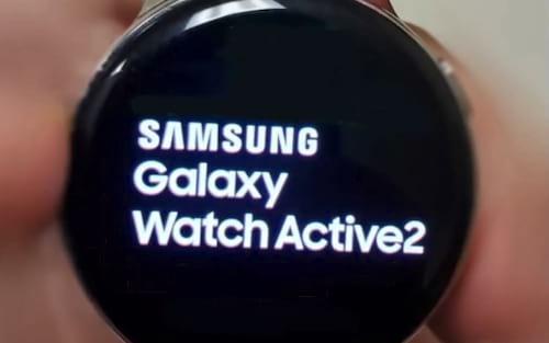 Samsung Galaxy Watch Active 2 apareceu