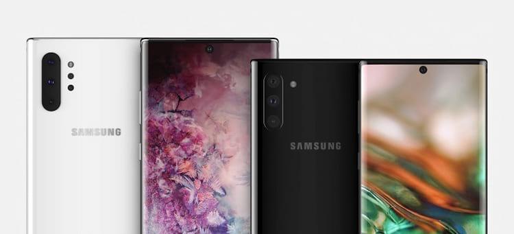 Samsung deve lançar Galaxy Note 10 e Galaxy Note 10+. A diferença será o tamanho e uma câmera extra na parte traseira.