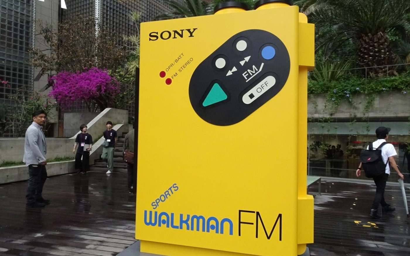 Sony Walkman completa 40 anos e realiza exposição em Tóquio, Japão